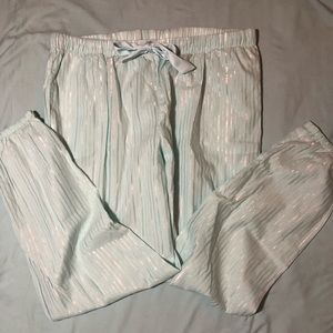 NWOT Blue & Silver VS Pajama Pants